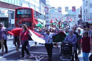 Gaza demo Brighton-140712-508-2