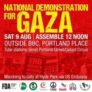 9 august national demo graphic