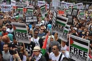 gaza demo photo from psc fb