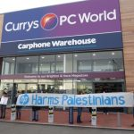 "We take the ""Stop HP"" campaign to the Currys PC World Megastore in Hove"