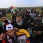 Protest Israel's violence against unarmed Palestinians in Gaza